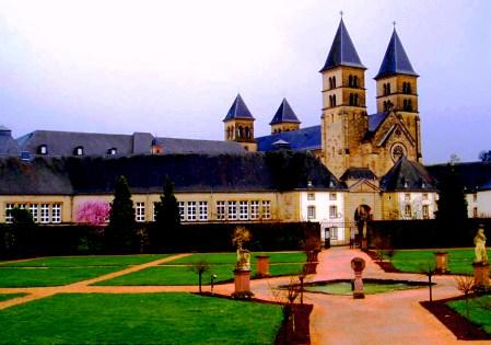 Echternach city - The Abbey
