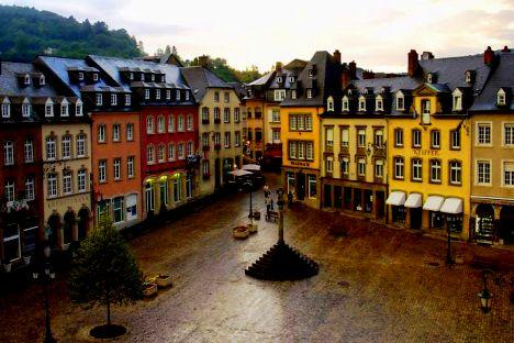 Echternach city - The Market Square