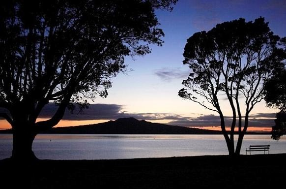 Rangitoto Island - Sunset