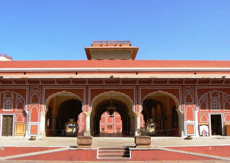Jaipur in India - City Palace
