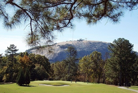 Stone Mountain Park - Golf area