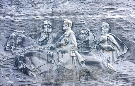 Stone Mountain Park - Memorial carving