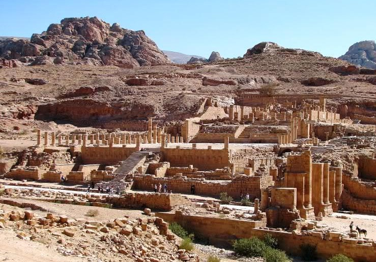 Image result for The great Temple petra jordan