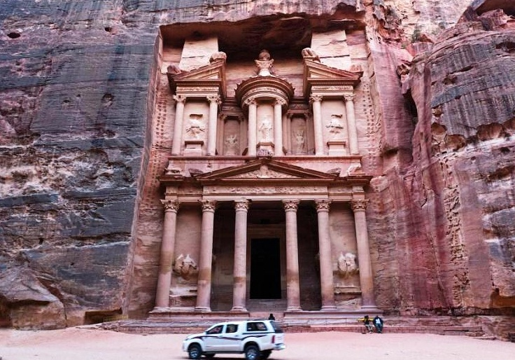 Petra in Jordan - The Treasury