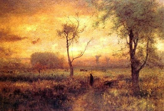 The Springfield Museums  - The Museum of Springfield History - Sunrise by George Inness