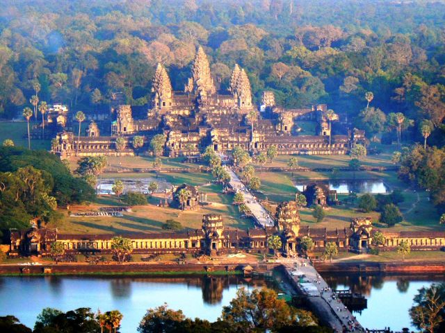 Angkor Wat in Cambodia - Overview of Angkor Wat