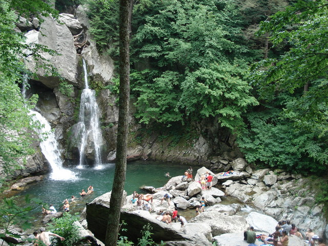 Bash Bish Falls  - Picturesque place