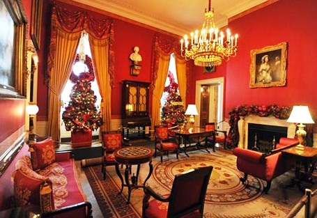 White House - Red Room