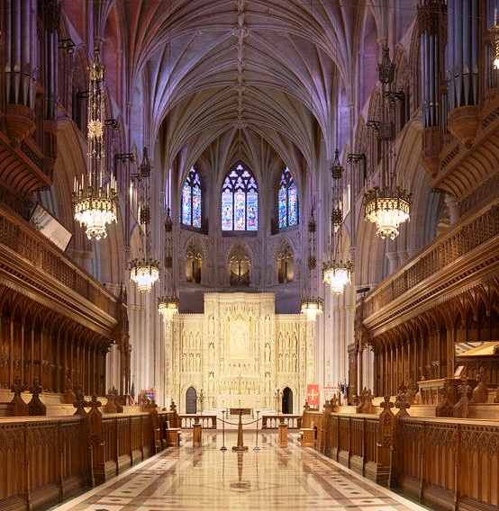 National Cathedral - Interior design