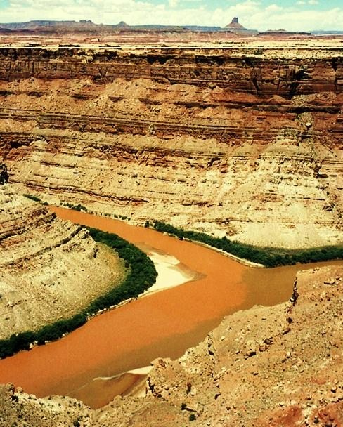Canyonlands National Park  - Confluence of the Green and Colorado rivers