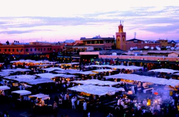 Marrakech city, Morocco - Impressive lifestyle