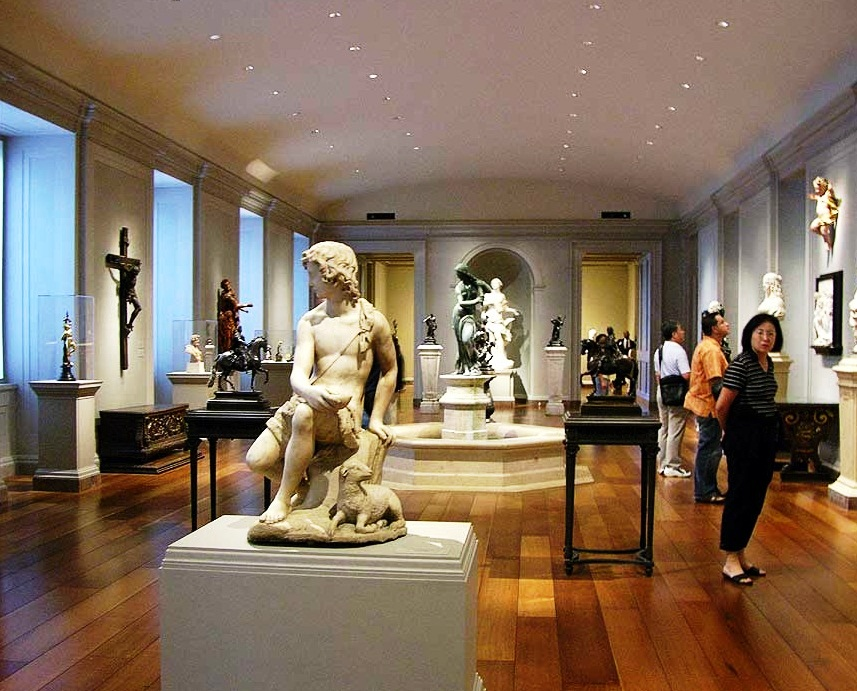 The National Gallery of Art - A Gallery of sculptures