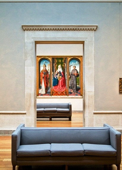 The National Gallery of Art - Interior view