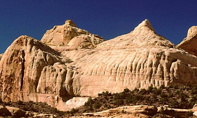 Capitol Reef National Park  - Capitol Dome - Nearby view