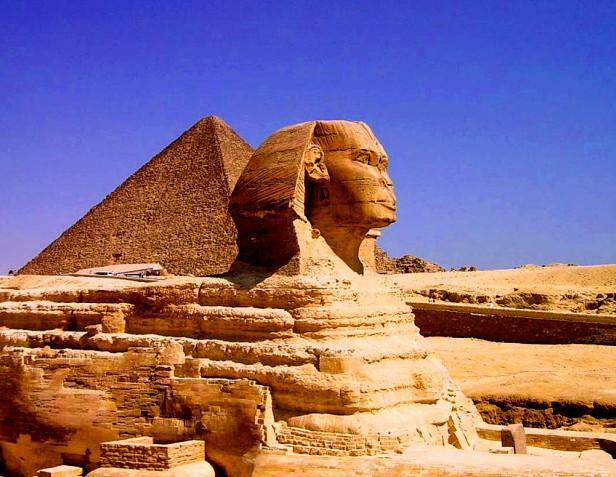 Egypt, Africa - The Giza Pyramids
