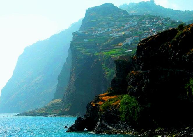 Madeira Island, Portugal - Enormous cliffs