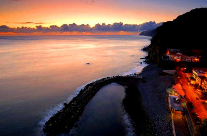 Madeira Island, Portugal - Incredible sun set view