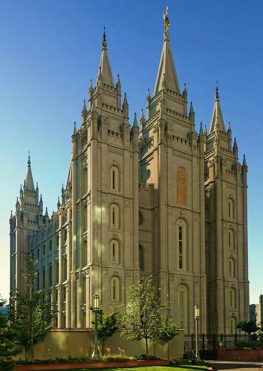 Salt Lake City The best touristic attractions in Utah USA – Salt Lake City Tourist Attractions Map