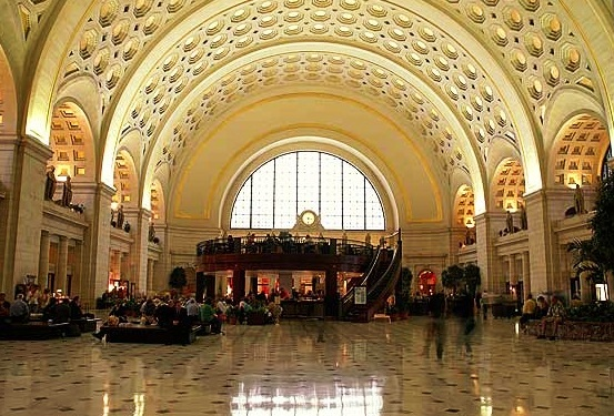Union Station - Interior view