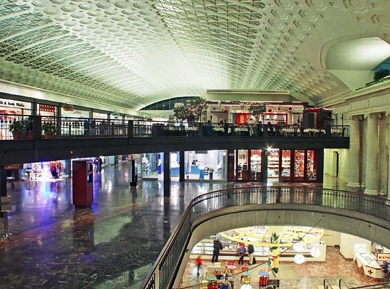 Union Station - Shopping area