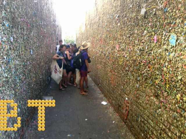 The BubbleGum Alley - BubbleGum by visitors