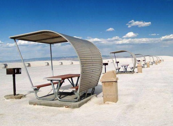 White Sands National Monument - Relaxing space