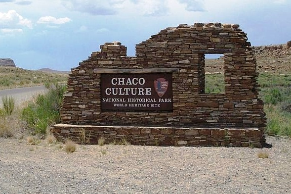Chaco Canion National Historic Park - Old Place