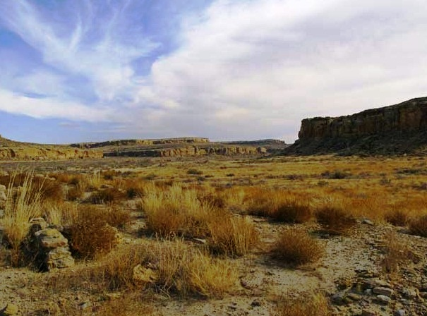 Chaco Canion National Historic Park - Pitoresque landscape