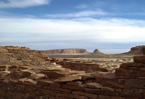 Chaco Canion National Historic Park - Pitoresque view