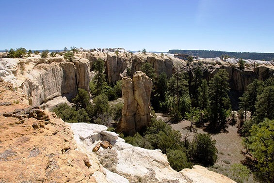 El Morro National Monument - Box Canion