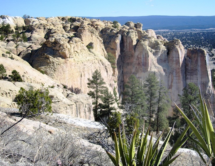 El Morro National Monument - Landscaping view