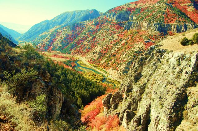 Logan - Bear Lake - Logan Canyon National Scenic Byway