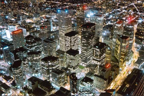 Toronto in Canada - Aerial view