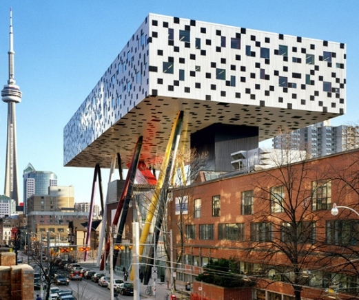 Toronto in Canada - Ontario College of Arts and Design