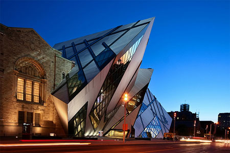Toronto in Canada - Royal Ontario Museum