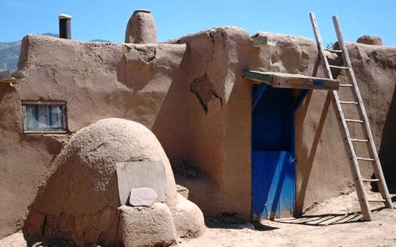 Taos Pueblo Exterior View