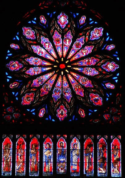 Nidaros Cathedral - Stained glass