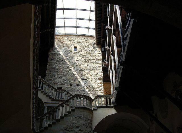 Poppi - Interior view of the castle