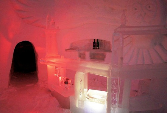 Snow Hotel - Bar View