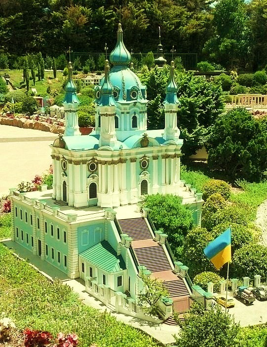 Cockington Green Gardens - Ukrainian church