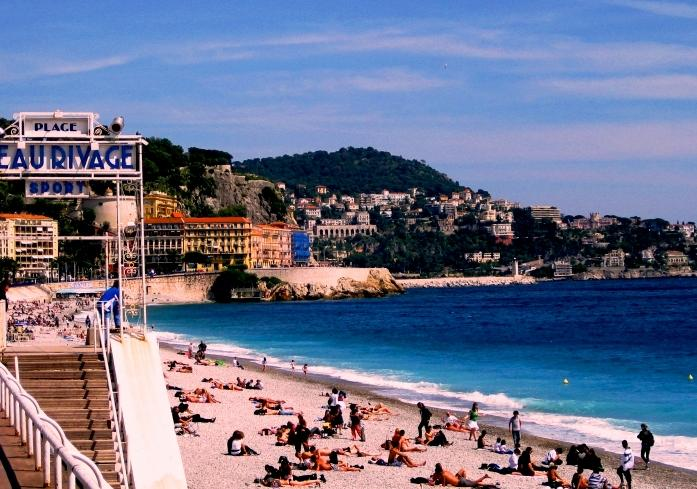 Nice, France - The Beau Rivage Beach