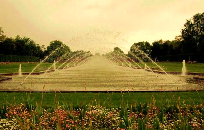 The North Park - Amazing Fountain