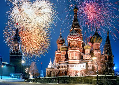 St. Basil's Cathedral in Moscow, Russia - Great design