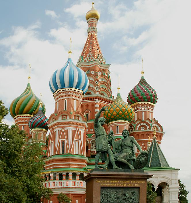 St. Basil's Cathedral in Moscow, Russia - Splendid architecture