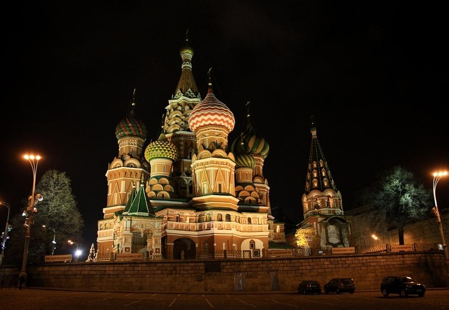 St. Basil's Cathedral in Moscow, Russia - St. Basil's Cathedral view