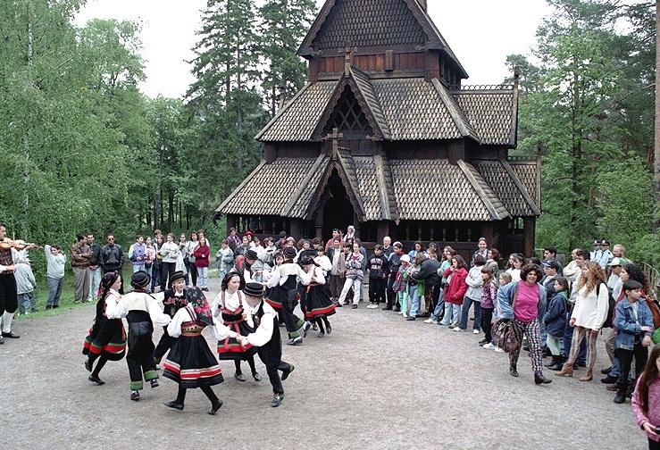 Image result for Norwegian Folk Museum