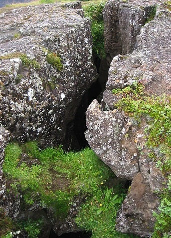 Thingvellir National Park - Tectonic rift
