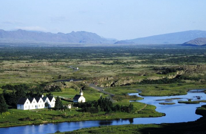 Thingvellir National Park - Wonderful panorama