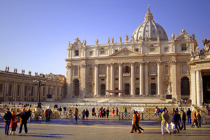 St. Peter's Basilica - View of St. Peter