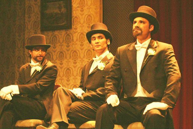 Manoel Theatre - Acting on stage
